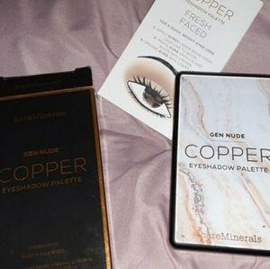 """Bare Minerals """"Copper"""" Eyeshadow Palette NIB"""